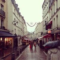 Photo prise au Rue Mouffetard par js c. le1/27/2013