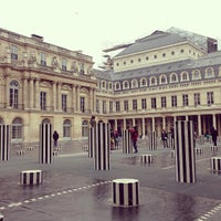 Photo taken at Palais Royal by js c. on 1/26/2013