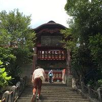 Photo taken at Ohirasanjinja Shrine by たろべー ハ. on 6/24/2017