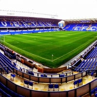 Photo taken at Goodison Park by Lakes Creative on 10/28/2012