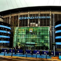 Photo taken at Etihad Stadium by Lakes Creative on 2/3/2013