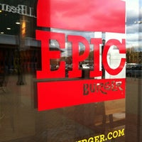 Photo taken at Epic Burger by Zach B. on 10/20/2012