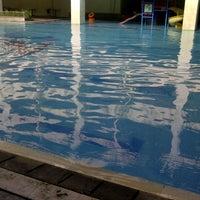 Photo taken at Nirmala Swimming Pool by Dewi P. on 2/24/2013