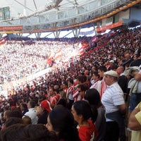 Photo taken at Estadio Único Ciudad de La Plata by Maximiliano C. on 4/14/2013