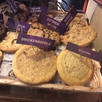 Photo taken at Insomnia Cookies by Alyssa P. on 11/12/2016