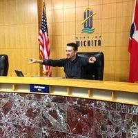 Photo taken at Wichita City Hall by Chris T. on 3/24/2014