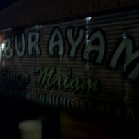 Photo taken at Bubur Ayam Biasa Malam by Lia A. on 1/12/2013