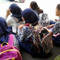 Photo taken at SMA Negeri 68 Jakarta by Lia A. on 7/12/2014