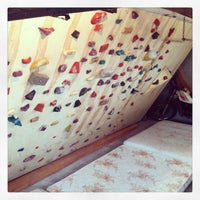 Photo taken at Caminha's Climbing Wall by Mauricio C. on 1/17/2013