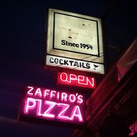 Photo taken at Zaffiro's Pizza & Bar by Aaron B. on 6/10/2013