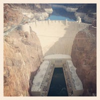 Photo taken at Hoover Dam by Aaron B. on 1/25/2013