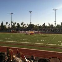 Photo taken at Robinson Stadium by Christine C. on 12/29/2013