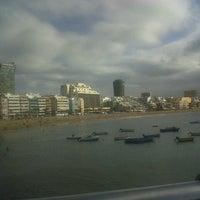Photo taken at Playa Grande by Rodrigo C. on 3/21/2013