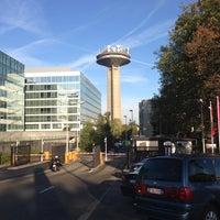 Photo taken at RTBF by Francois J. on 10/31/2012