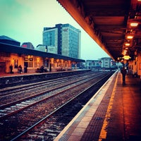 Photo taken at Cardiff Central Railway Station (CDF) by Fabio I. on 1/22/2013