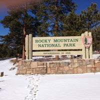 Photo taken at Rocky Mountain National Park by Kelly B. on 2/25/2013