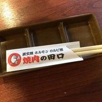 Photo taken at 焼肉の田口 恩名店 by aqua_bleu (. on 6/24/2014