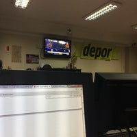 Photo taken at Diario Depor by Andrea C. on 6/19/2014