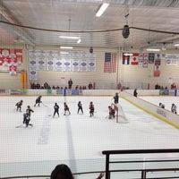 Photo taken at Edge Ice Arena by Tim M. on 1/19/2014