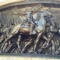Photo taken at Robert Gould Shaw Memorial by Diego R. on 9/17/2016