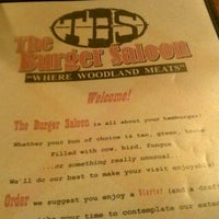 Photo taken at The Burger Saloon by Susy A. on 3/28/2013