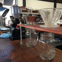 Photo taken at Andante Coffee Roasters by kim g. on 9/4/2013