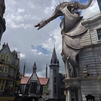 Photo taken at The Wizarding World Of Harry Potter - Diagon Alley by Andrew S. on 6/19/2014