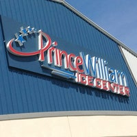 Photo taken at Prince William Ice Center by Hunter M. on 8/25/2013
