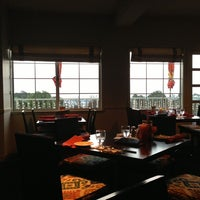 Photo taken at South Harbor Waterfront Restaurant and Bar by Gia N. on 10/12/2013
