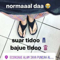 Photo taken at Econsave Puncak Alam by Syafiqah J. on 5/6/2017