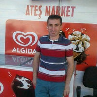 Photo taken at ateş market by Ahmet A. on 9/10/2016