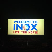 Photo taken at Inox by Swapnil D. on 1/2/2013