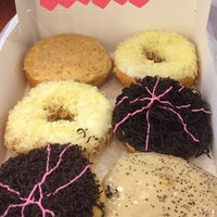 Photo taken at Big Apple Donuts & Coffee by Farhani R. on 11/29/2016