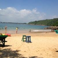 Photo taken at Jungle Beach by Gava B. on 2/17/2013