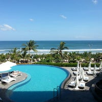 Photo taken at Sheraton Bali Kuta Resort by Jonghyun C. on 8/3/2013