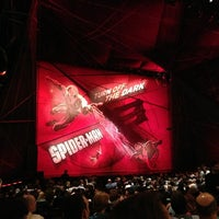Photo taken at Spider-Man: Turn Off The Dark at the Foxwoods Theatre by Alex S. on 5/23/2013