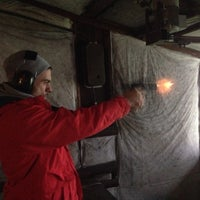 Photo taken at Magnum Shooting Range by Ondre on 1/4/2014