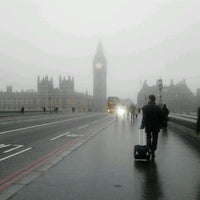 Photo taken at Westminster Bridge by Matthew S. on 10/23/2012
