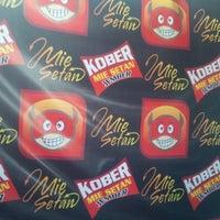 """Photo taken at Mie Setan """"KOBER"""" Jember by Probo N. on 10/12/2014"""