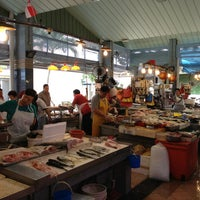 Photo taken at Marine Terrace Market & Food Centre by Nathan D. on 12/29/2012
