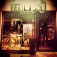 Photo taken at mUwi bike goodies by Davide A. on 10/16/2012