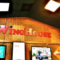 Photo taken at Ker's WingHouse Bar & Grill by Manuela O. on 9/13/2012