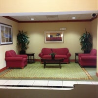 Photo taken at Holiday Inn Express & Suites St. Petersburg North (I-275) by Manuela O. on 3/23/2013