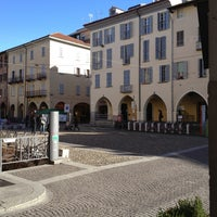 Photo taken at Piazza della Vittoria by Gabriele F. on 2/3/2013