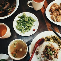 Photo taken at Ding Hao Noodle House by Crystal W. on 6/14/2014