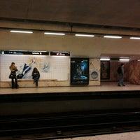 Photo taken at Metro Saldanha [AM,VM] by Pedro A. on 1/18/2013