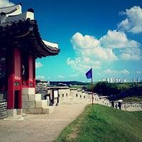 Photo taken at Hwaseong Fortress by Pino B. on 10/4/2012