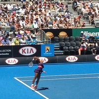 Photo taken at Rod Laver Arena by Daun C. on 1/15/2013
