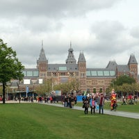 Photo taken at Museumplein by Ann D. on 5/25/2013