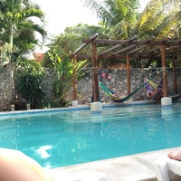 Photo taken at Nomadas hostel by Bethanie C. on 5/23/2016